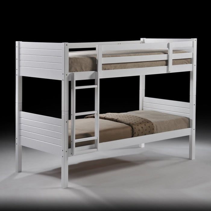 bunk bed frame black kids bed The Bed Shop
