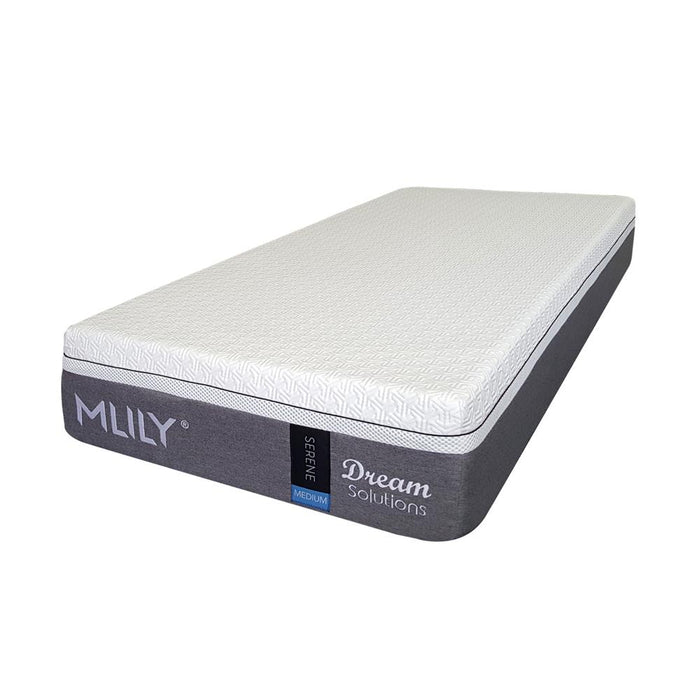 premium medium memory foam mattress mlily Serene The Bed Shop