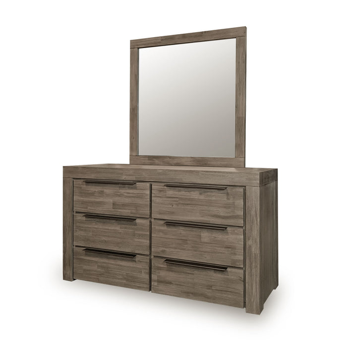 dresser mirror arctic bedroom collection the bed shop