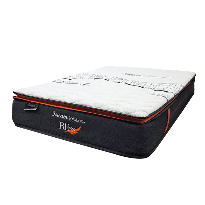 medium pocket spring mattress in a box Bliss Dream Solutions The Bed Shop