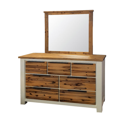 Wooden dresser mirror Costa Rica Collection The Bed Shop