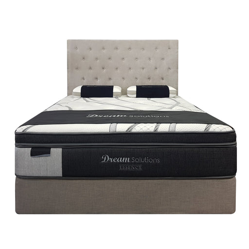 firm pocket spring mattress with pillow top Essence Dream Solutions The Bed Shop