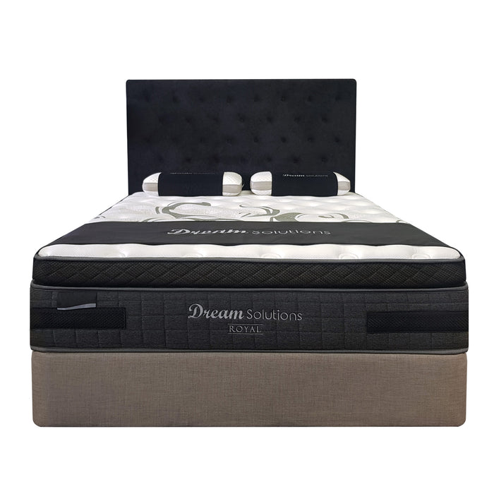 Premium plush soft pocket spring mattress with pillow top Royal Dream Solutions The Bed Shop