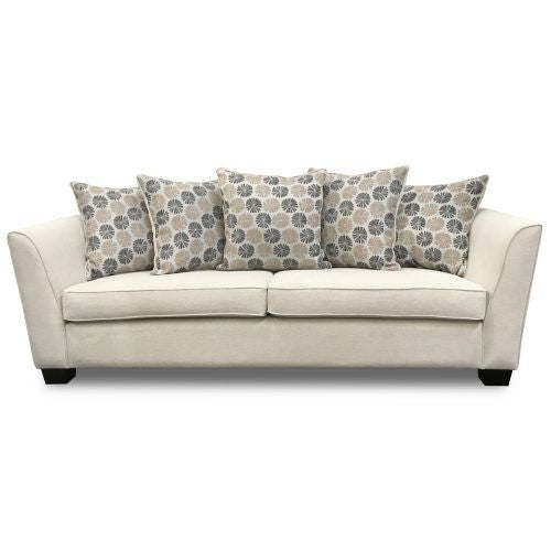 3 seater upholstered sofa Chanel The Bed Shop