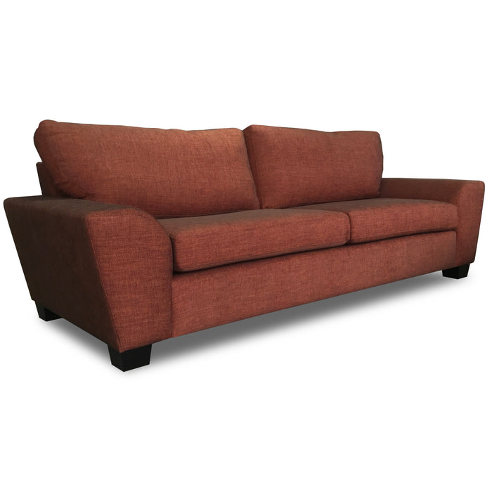 3 seat upholstered sofa new zealand made Marco The Bed Shop