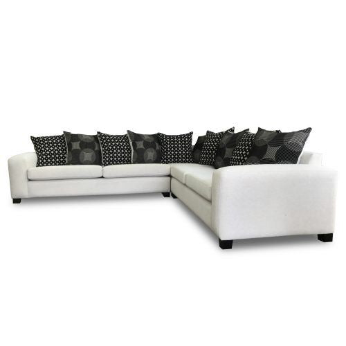 corner lounge suite soft with ottoman Montego The Bed Shop