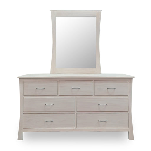 wooden dresser with mirror custom New Zealand made Maddison Collection The Bed Shop