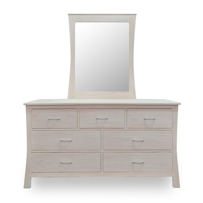 seven drawer wooden dresser custom New Zealand made Maddison Collection The Bed Shop