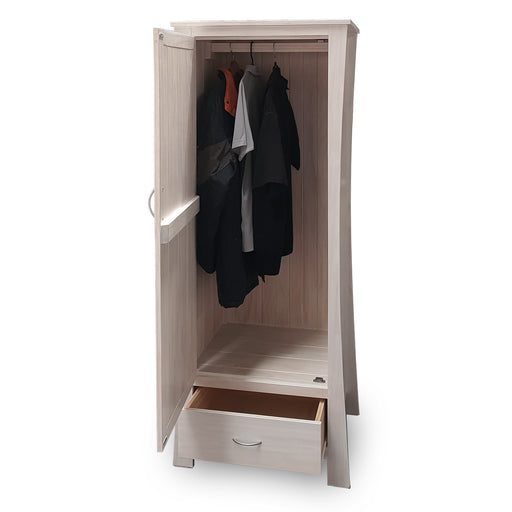 Maddison Wardrobe - Single (1 Door 1 Drawer)