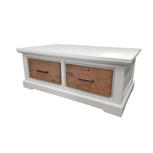 2 Drawer coffee table New Jersey Collection The Bed Shop