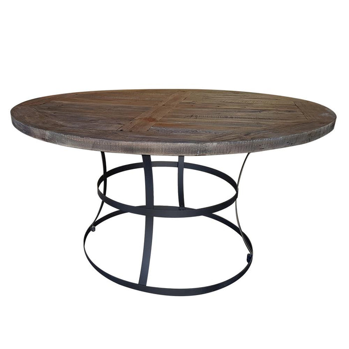 Newcastle Round Dining Table - The Bed Shop NZ