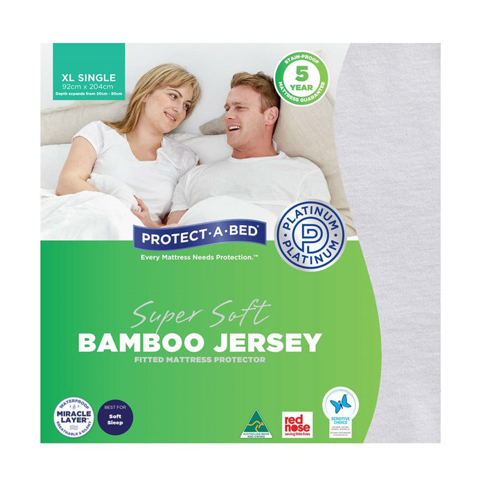 Protect A Bed Mattress Protector - Bamboo Jersey