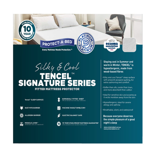 Protect A Bed Mattress Protector - Signature Tencel