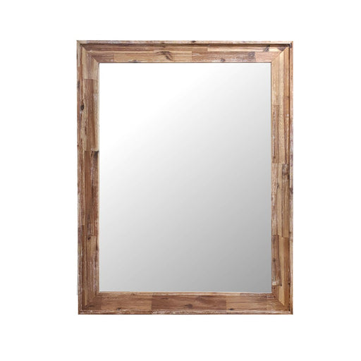 Natural wood mirror for dresser Raglan Bedroom Collection The Bed Shop