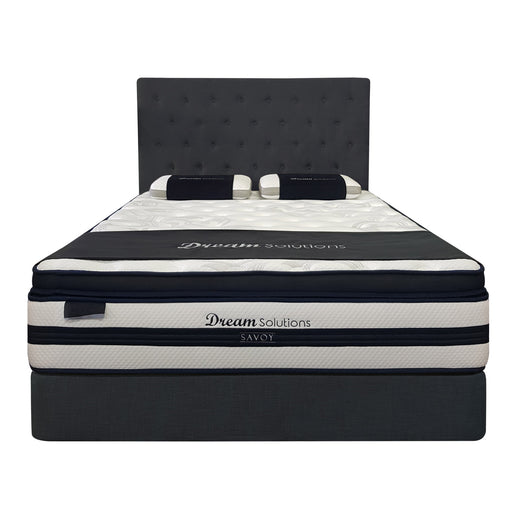 Premium  medium pocket spring mattress with pillow top Savoy Dream Solutions The Bed Shop