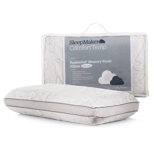 memory foam pillow fusion gel sleepmaker The Bed Shop