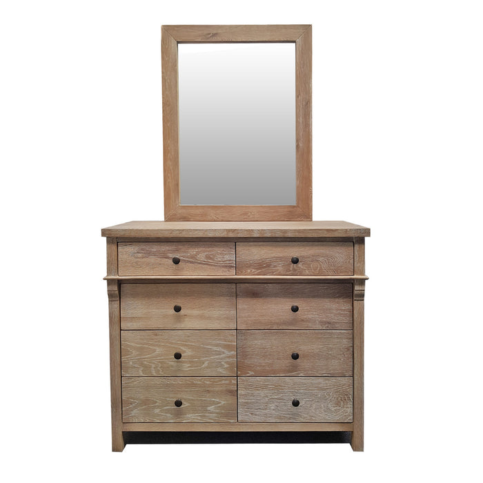 Wooden dresser and mirror Toulouse Collection The Bed Shop