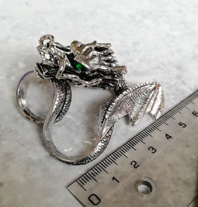 Two Finger Dragon Ring