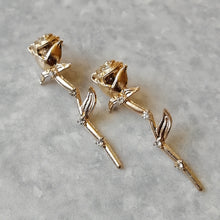 Load image into Gallery viewer, Dainty Rosebud Romantic Stud Earrings