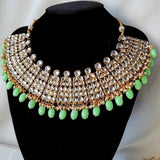 Diamond Limes Necklace - Gold Plated