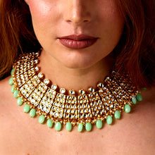 Load image into Gallery viewer, Diamond & Lime Necklace