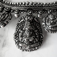 Load image into Gallery viewer, Stunning everyday silver shiva necklace with intricate detail throughout. Perfect for all occasions.