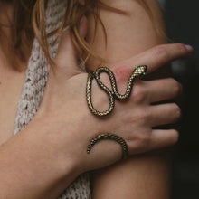 Load image into Gallery viewer, Snake Hand Wrap/Bracelet