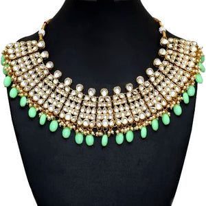 Diamond & Lime Necklace