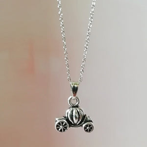 Fairytale Carriage Necklace