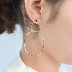 Dangle & Drop Edgy Minimalist Earrings