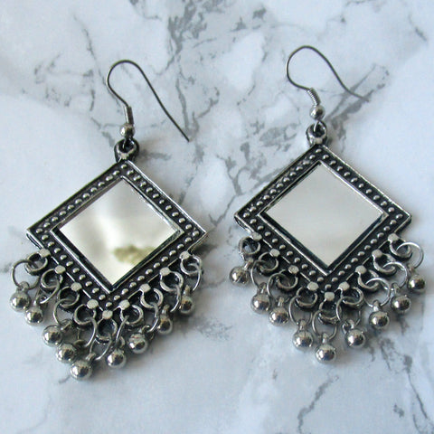 Dangling Reflection Earrings
