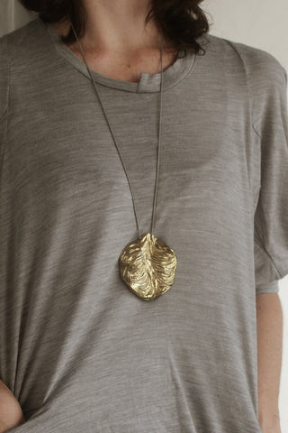 Agung Coral Round Pendent