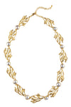Lila Necklace- Goldplate