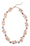 Lila Necklace- Rosegold
