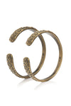 Espresso Quarry Bangles -  Set of 2