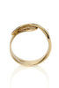 Quarry Wrapped Bracelet Gold Image - Standing