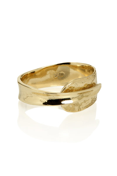 Quarry Wrapped Bracelet Gold Image - Lying