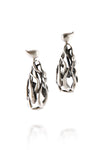 ManifestDesign - Rain Earrings - Anti. Silverplate