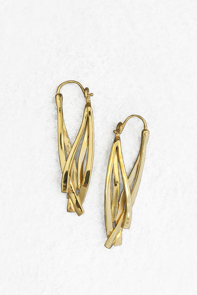 Ribbon Drop Earrings