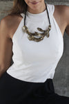 ManifestDesign - Sirena Necklace - Espresso Bronze