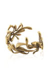 ManifestDesign - Sprout Cuff - Anti. Goldplate