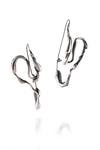 Manifest Design - Sprout Hoops - Anti. Silverplate