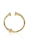 Totem Bangle Gold Image - Front