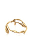 Manifest Design - Vine Bangle - Anti. Goldplate