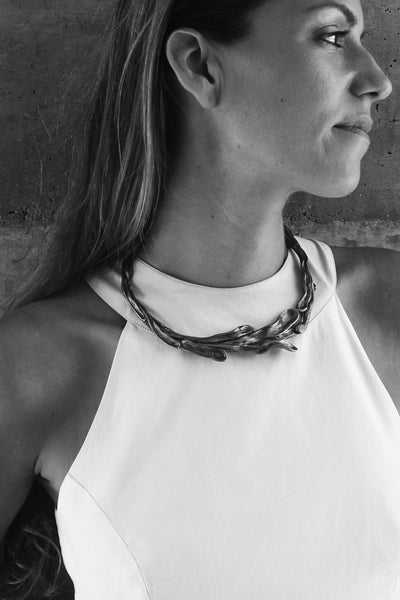 Sirena Collar Necklace looking great on you!