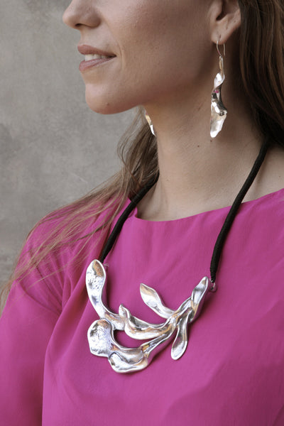 Sirena Necklace in Aluminum