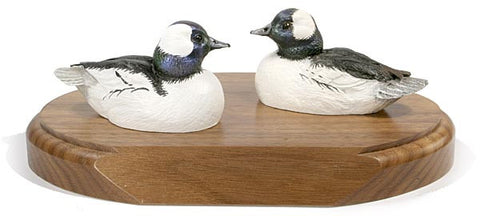 Bufflehead Ducks on a Base