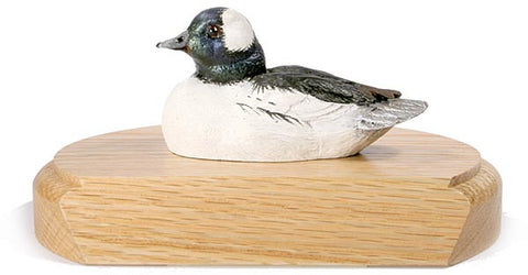 Bufflehead Duck on a Base