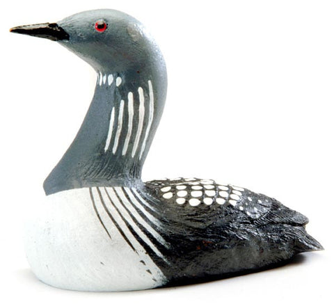 Arctic Loon Duck sculpture