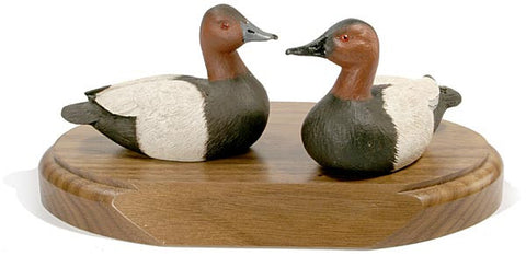 Canvasbacks on a Base